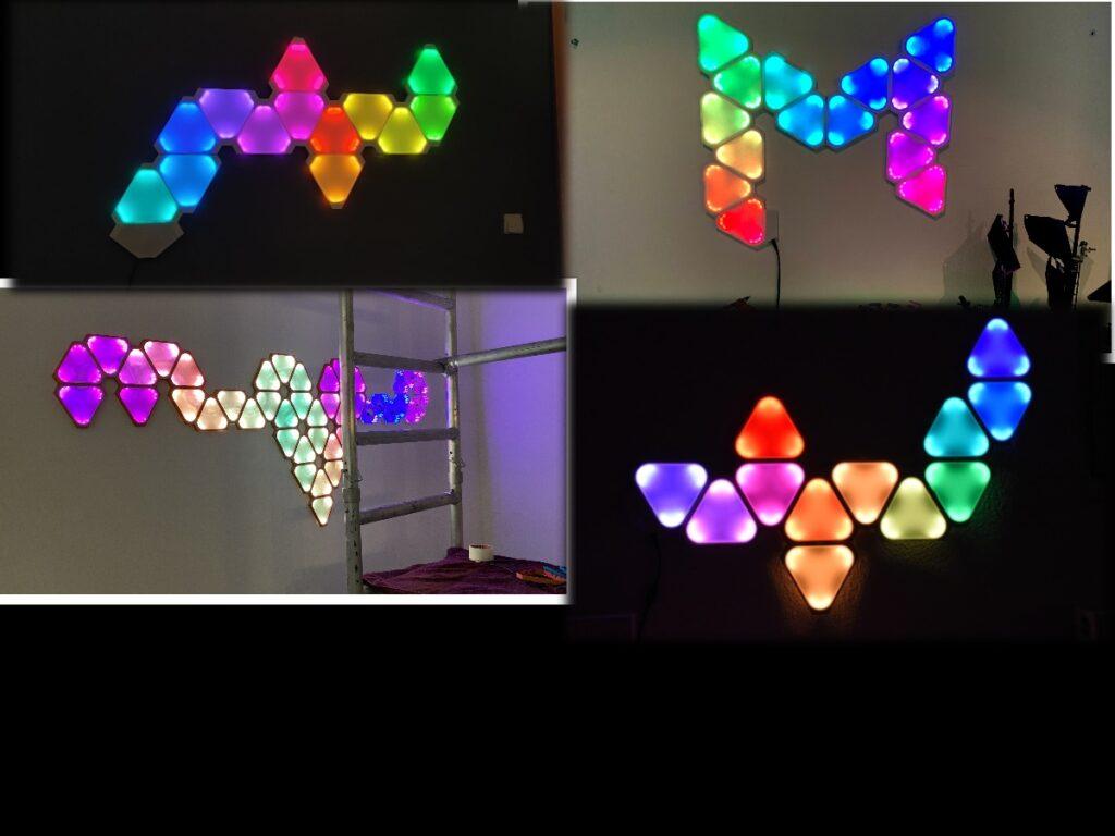 3D-Printed DIY IOT Nanoleafs